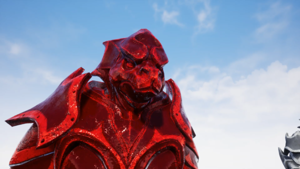 GLAMOUR: Enchanted Statue - Modular Static Mesh Armor Set (BloodGem)