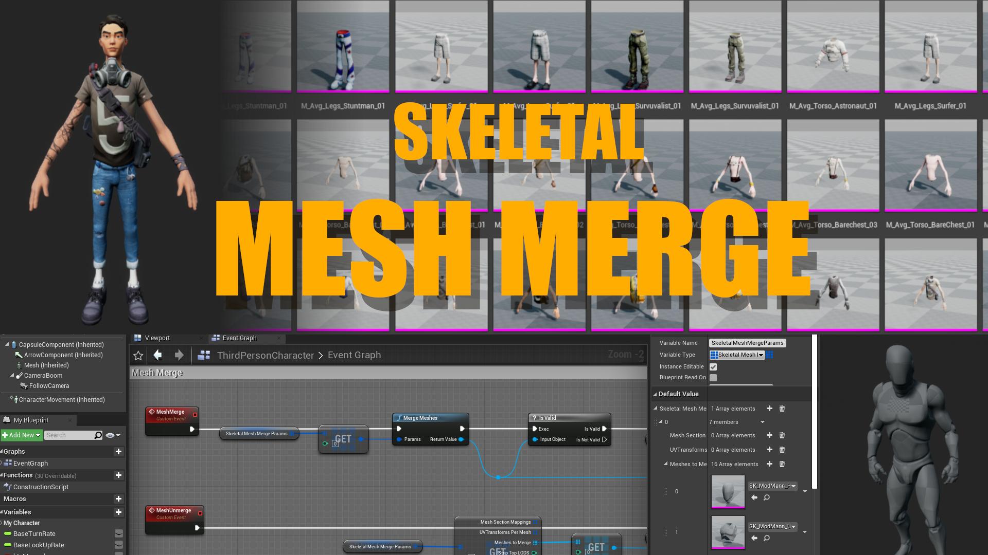 MESH MERGE