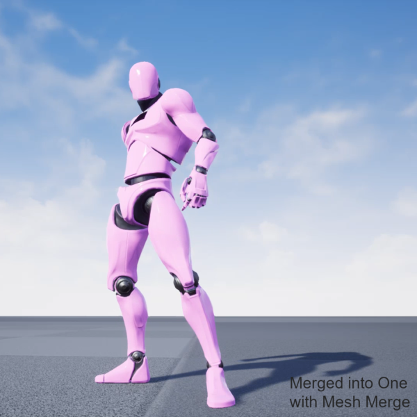 UE4ModMann Merged With MeshMerge Plugin